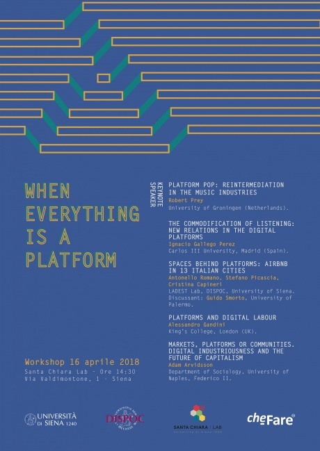 "Workshop ""When everything is a platform"""