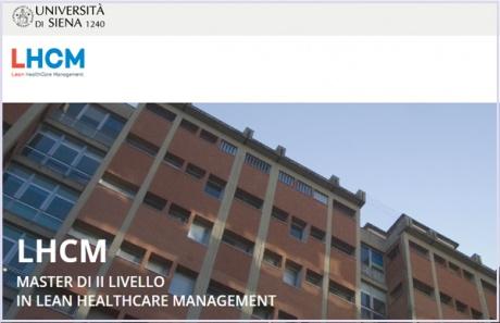 Master di II livello in Lean Healthcare Management