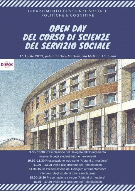 Open Day Scienze del Servizio sociale