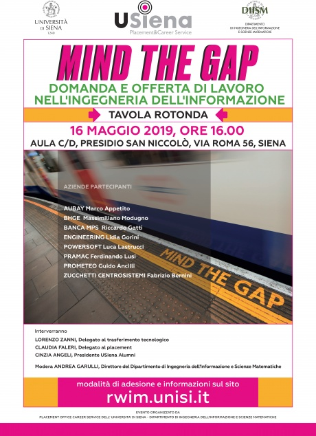 "tavola rotonda ""Mind the Gap"""