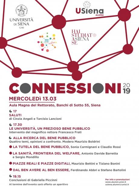 """""""Connessioni 2019"""" Alumni"""
