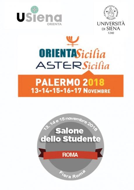 Saloni orientamento Università di Siena