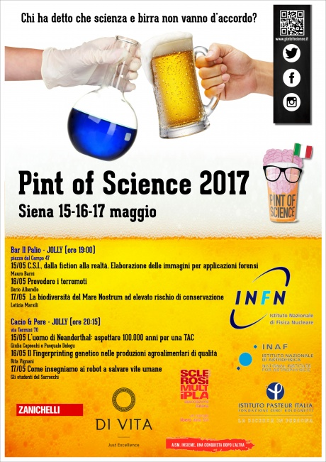 Pint of science 2017 Siena