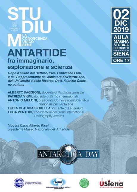 Antartide fra immaginario, esplorazione e scienza - Locandina