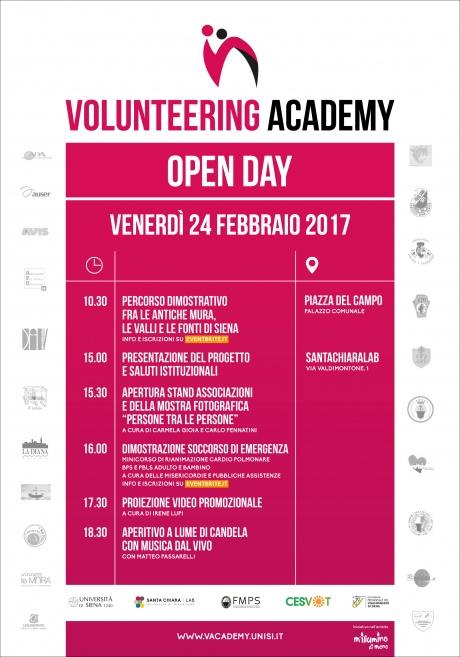 """progetto """"Volunteering Academy"""""""