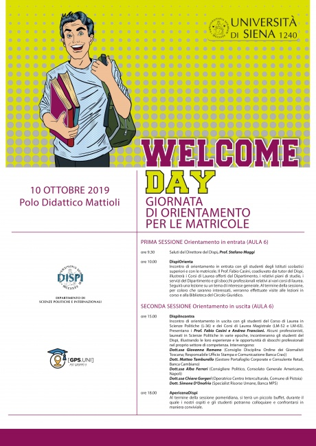 Welcome Day Dispi