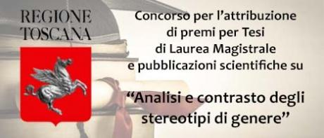 """Premio """"Analisi e contrasto degli stereotipi di genere"""""""