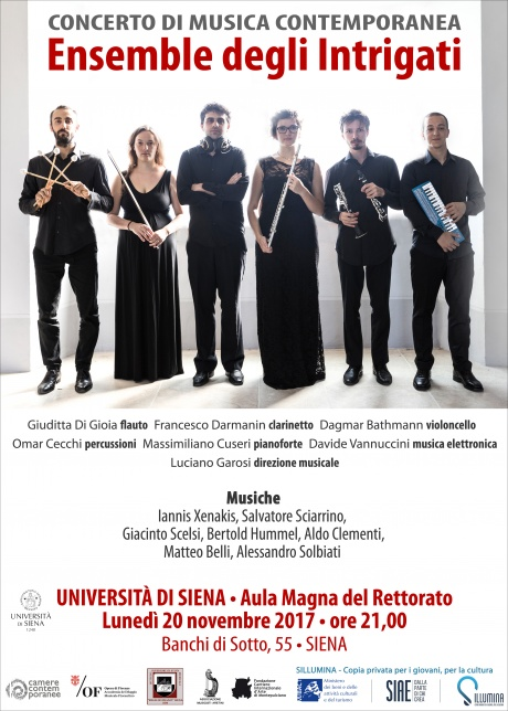 Concerto Ensemble degli Intrigati