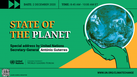 """""""The State of the Planet"""" - World Leaders Forum"""