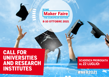 Maker Faire Rome: Call for Universities and Research Institutes 2021