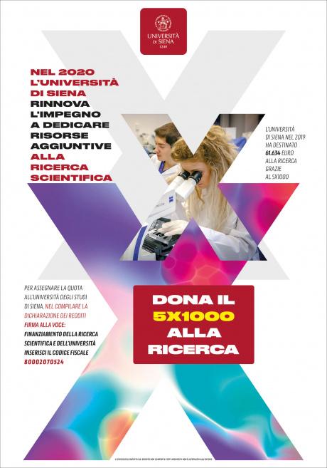 Dona il 5x1000 alla ricerca - Università di Siena