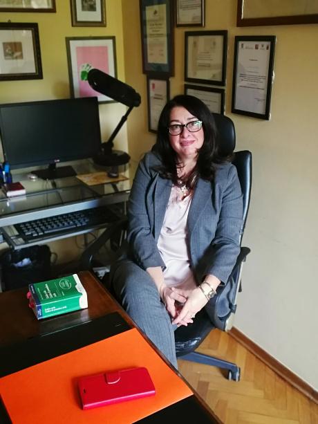 foto in ufficio Avv. Lucia Ciacci