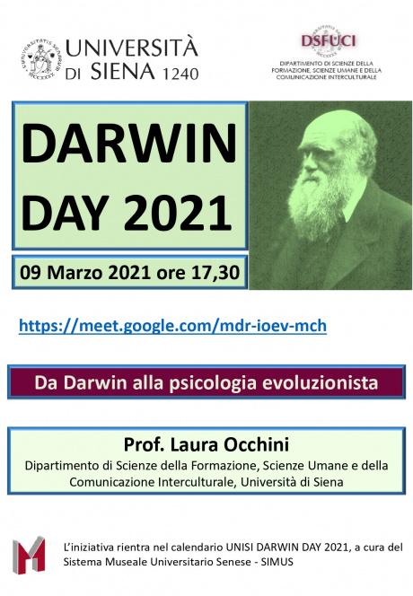 Da Darwin alla psicologia evoluzionista