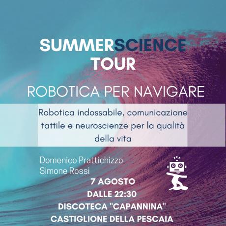 Robotica per navigare