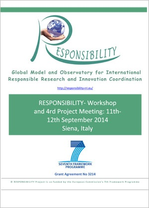 locandina RESPONSIBILITY‐ Workshop and 4rd Project Meeting