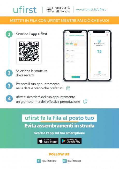 ufirst, la nuova app di prenotazione appuntamenti