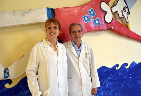 professoressa Alessandra Renieri e dottor Roberto Canitano