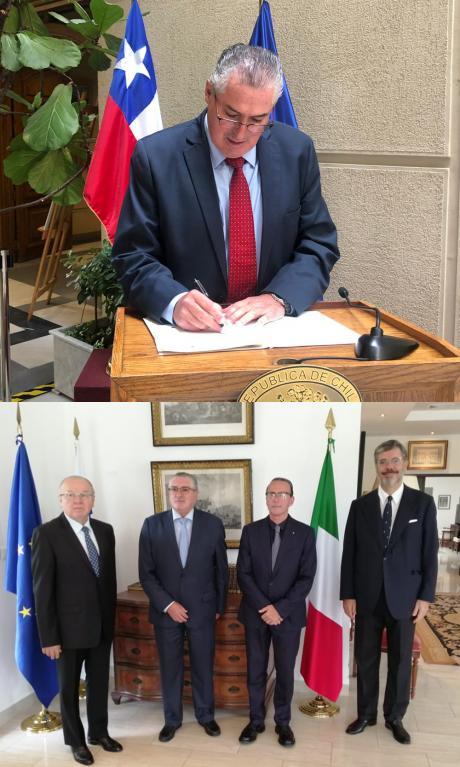 Consegnato l'accordo di collaborazione tra Università di Siena e Parlamento latinoamericano