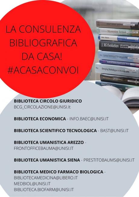 la consulenza bibliografica da casa