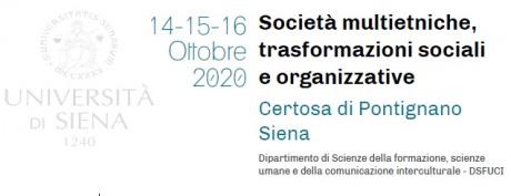 """Convegno """"Società multietniche, trasformazioni sociali e organizzative"""""""