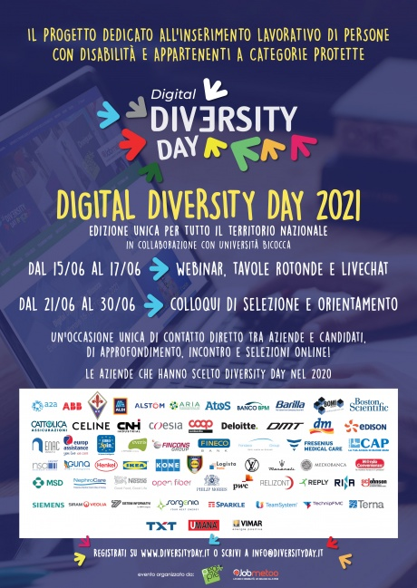 Locandina Diversity Day