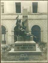 Monumento ai Caduti (foto d'epoca)