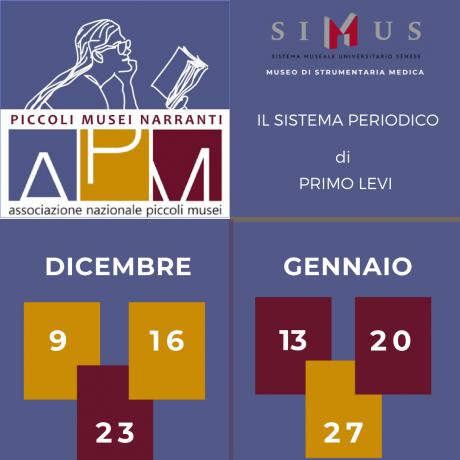 """Il SIMUS aderisce al progetto """"Piccoli Musei Narranti"""""""