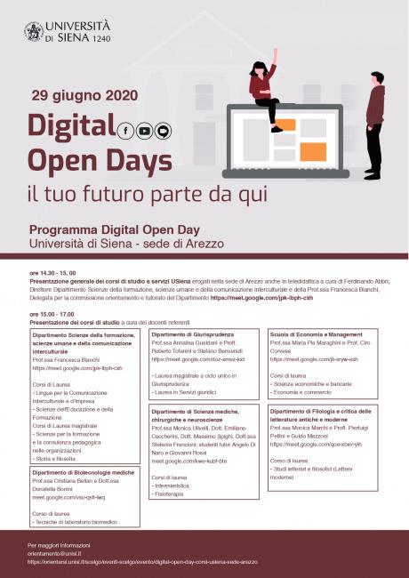 Digital Open Day ad Arezzo