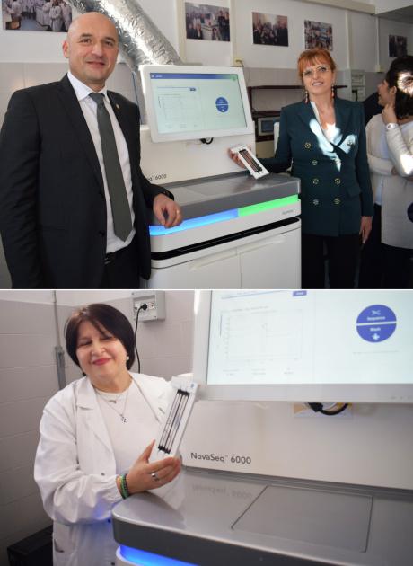 Inaugurato il nuovo strumento per l'analisi del genoma, NovaSeq 6000