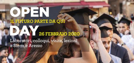 Open Day 2020 Università di Siena