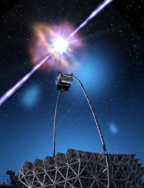 L'Università di Siena nel gruppo di ricerca internazionale nello studio dei lampi gamma