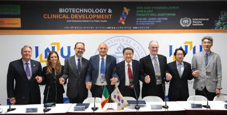 il Rettore firma una convenzione in Corea del Sud con la Incheon National University