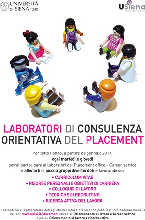Laboratori di consulenza orientativa del Placement Office&Career Service