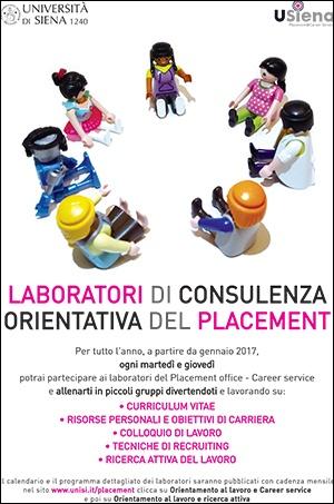 Laboratori di consulenza orientativa del Placement Office&Career Service