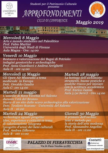 eventi Studenti per il patrimonio culturale