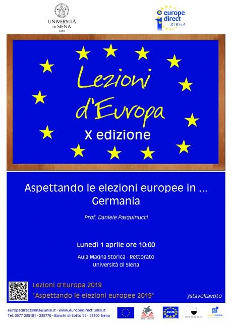 """""""Aspettando le elezioni europee in …Germania"""""""