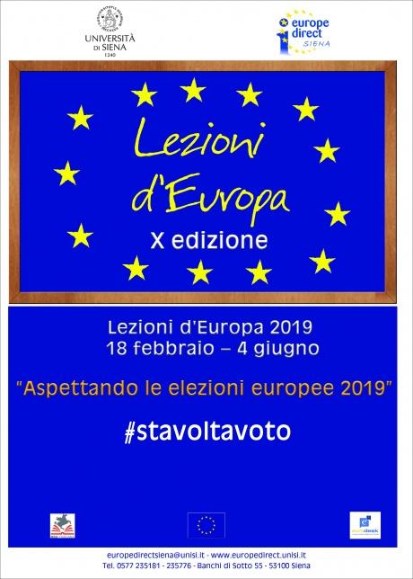 Lezioni d'Europa 2019