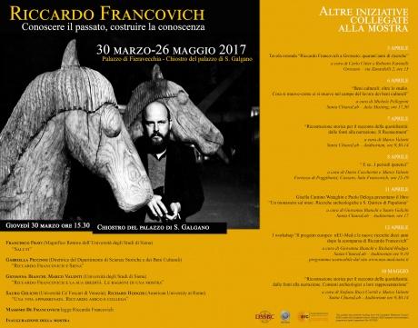 eventi collegati mostra Riccardo Francovich