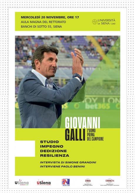 Giovanni Galli: l'uomo prima del campione - Locandina evento
