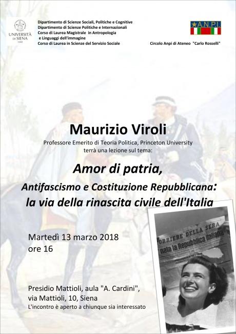 lezione del prof. Maurizio Viroli